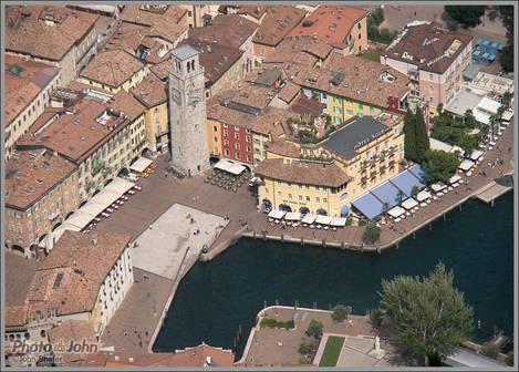 Looking Down On Riva del Garda