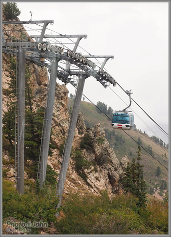 Needles Gondola - Snowbasin, Utah