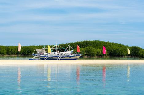 Boat at Luli Island 2