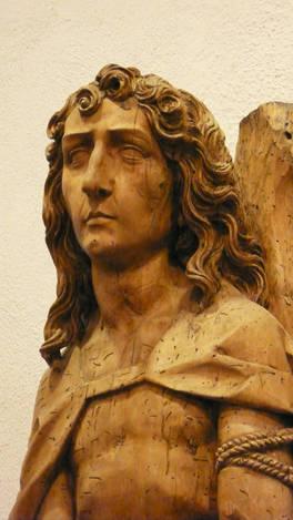 Curly Hair carved by Tilman Riemenschneider