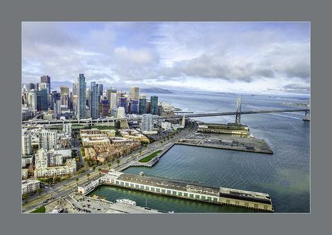 Chopper View of San Fransisco