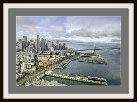 Chopper View of San Fransisco © 2015 Aungwin