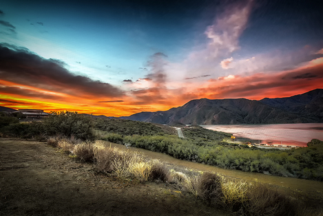 Pyramid Lake Sunrise