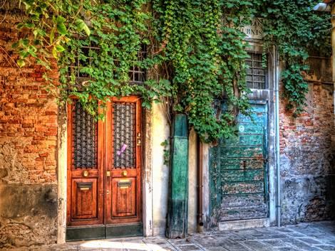 Two doors in Venice
