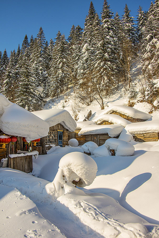 Snow town 5