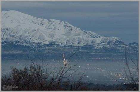 Salt Lake City Dawn - Nikon D7000 at ISO 3200