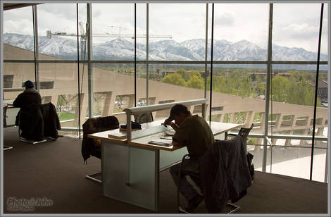 Salt Lake City Library Spring