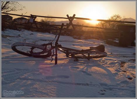 Winter Bike Glow