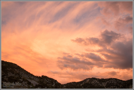 Wasatch Sunset - Canon EOS 70D