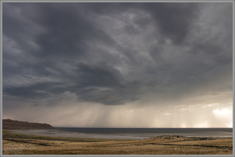 Superstorm Over The Great Salt Lake