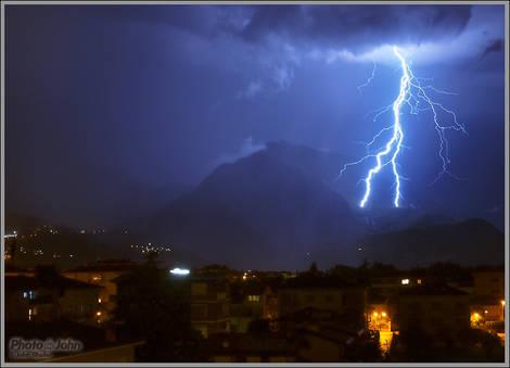 Lightning Over Arco