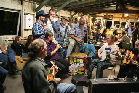 Fiddlers Convention-Late at Night