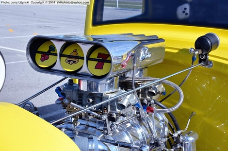 One hot rod engine