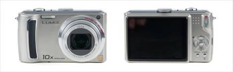 Panasonic Lumix DMC-TZ5 - Front and Back