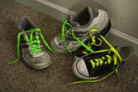 Neon laces