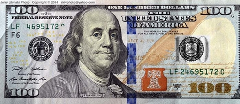 Our new design for folding money