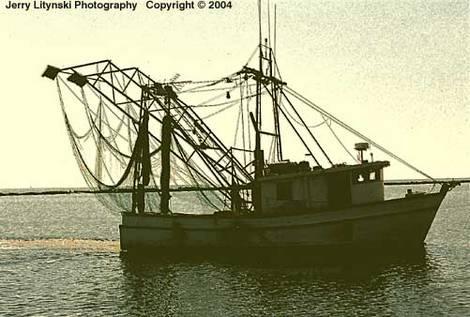 Shrimper in Mississippi