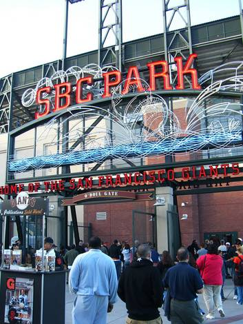 The Casio going to SBC Park
