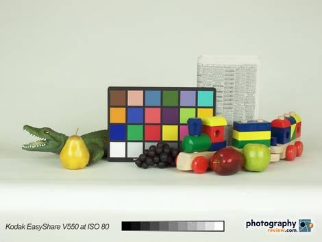 Kodak EasyShare V550 - ISO 80