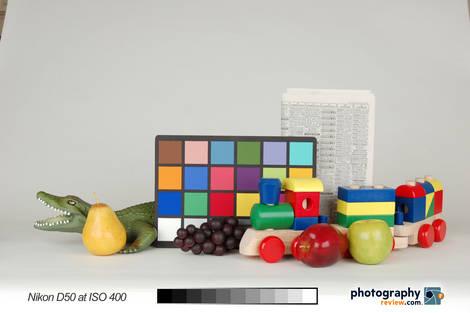 Nikon D50 Studio Test at ISO 400
