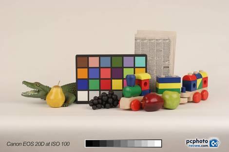 Canon EOS 20D Test - ISO 100