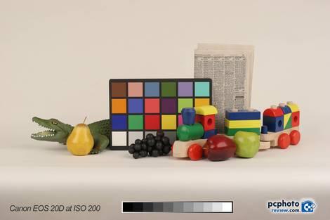 Canon EOS 20D Test - ISO 200