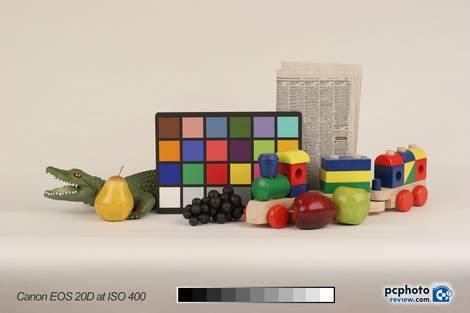 Canon EOS 20D Test - ISO 400