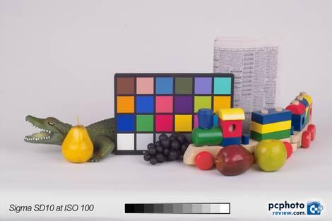 Sigma SD10 @ ISO 100