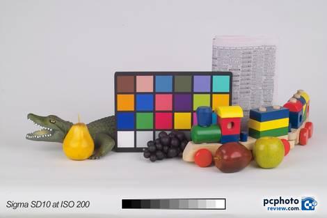 Sigma SD10 @ ISO 200