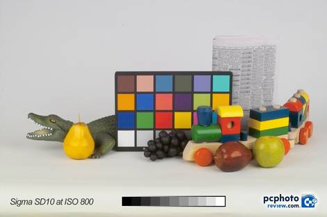Sigma SD10 @ ISO 800