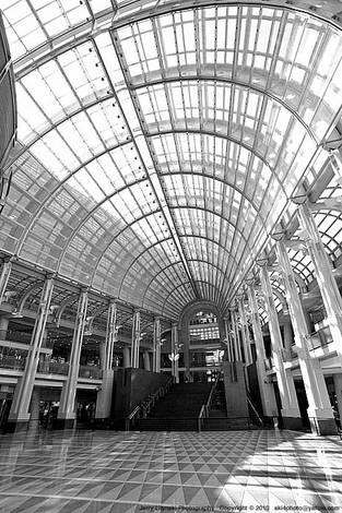 A large lobby area