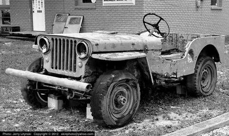 One old Jeep