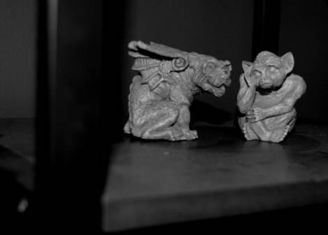 Gargoyles plotting....