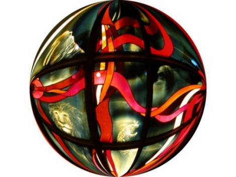 Stained Glass Sphere