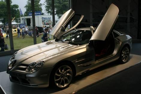 Goodwood Festival of Speed 2005 - Merc SLR