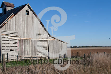 Fall Barn Large Watermark
