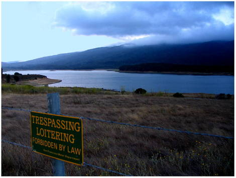 Loitering AND Trespassing