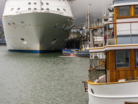 Juneau harbor scene