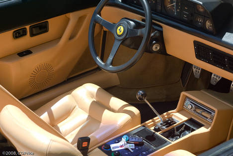 Ferrari Mondial at the Mansion