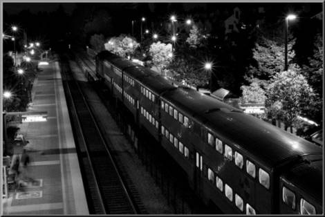Night train B/W