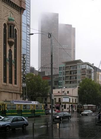 Rain in Melbourne 2