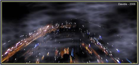 Night 360-degree panorama.