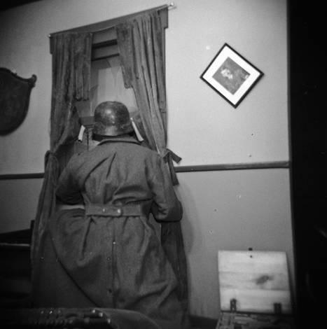 petaluma military museum/ Holga