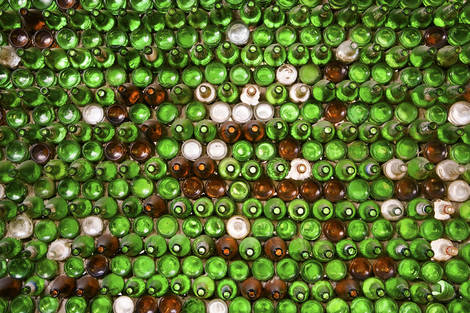 Empty beer bottles 1