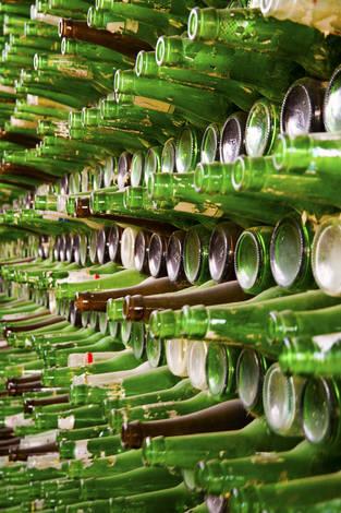Empty beer bottles 2