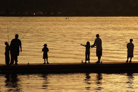 Fishing in the Twilight