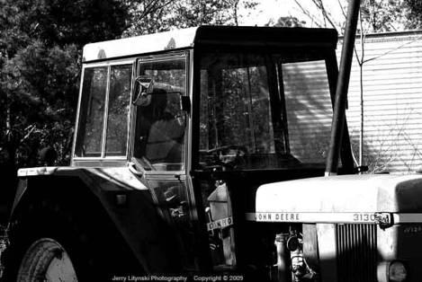 On a John Deere 3130 Tractor