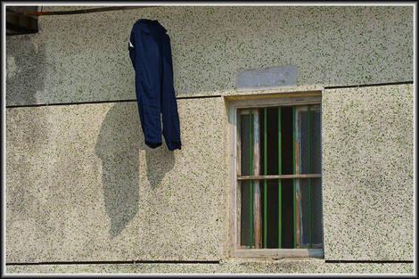 Drying trouser & window
