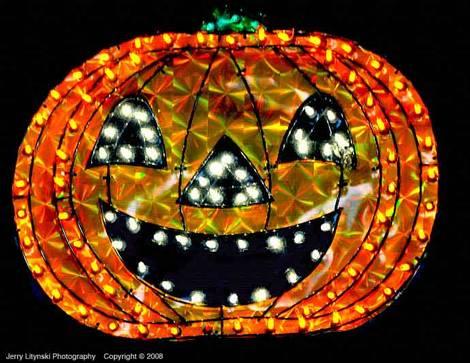 One hi-tech pumpkin