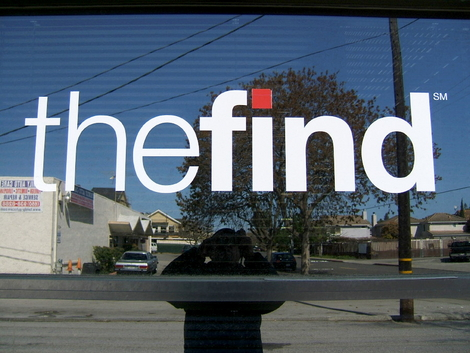 the find...